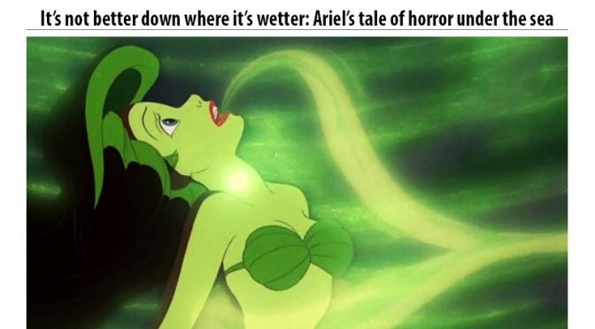 Muckraking in wonderland: 7 fairy tale classics rewritten as news leads