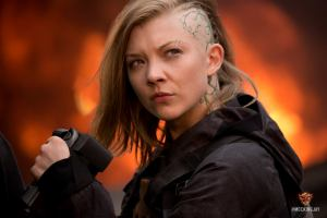 Cressida filming devastation by bombs