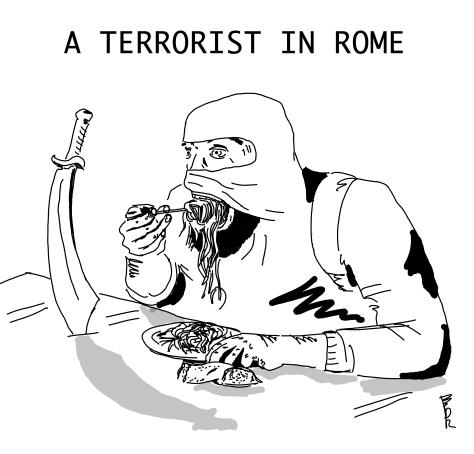 a terrorist in rome