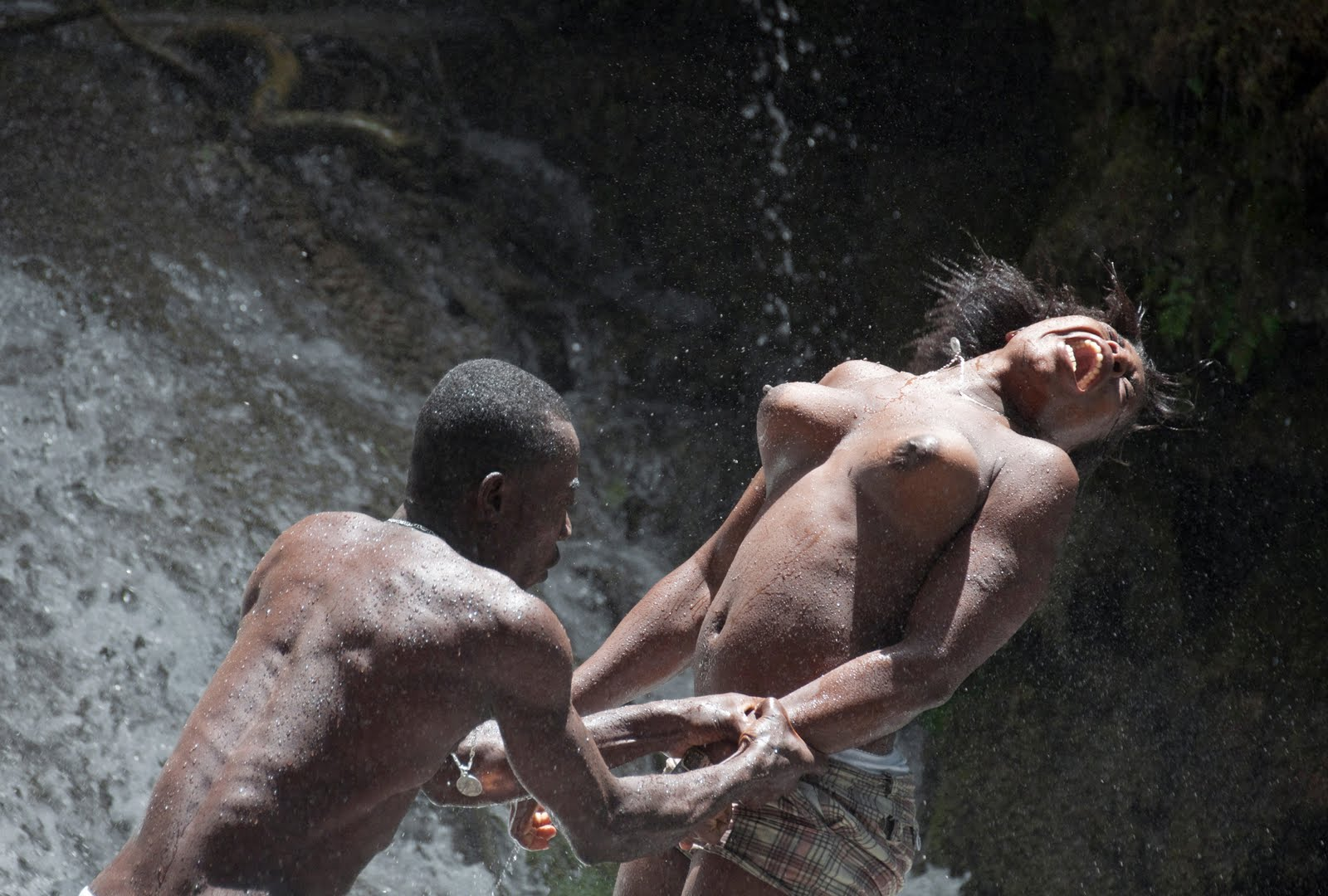 Naked Tribe Having Sex 16